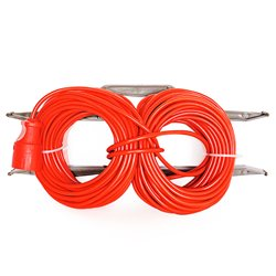 Удлинитель силовой на рамке GLANZEN 20м штепс. гн. ПВС 2*2,5 20 м ER-20-010