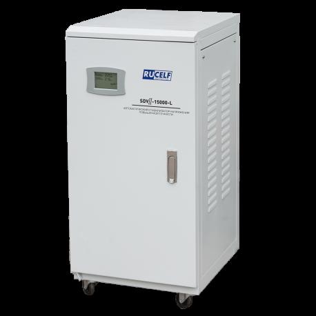 Стабилизатор напряжения RUCELF SDV II-15000-L