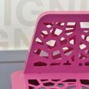 Парковая скамейка цвет Брусника