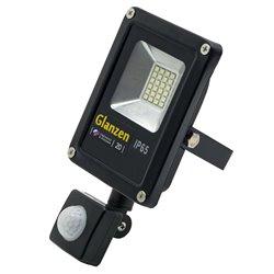 Светодиодный прожектор c датчиком движения GLANZEN FAD-0011-20