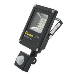 Светодиодный прожектор c датчиком движения GLANZEN FAD-0017-10