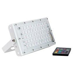 Светодиодный прожектор GLANZEN FAD-0030-50-RGB